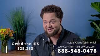 anthem tax services client review and testimonial